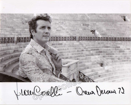 Corelli, Franco - Signed photo - TaminoAutographs.com