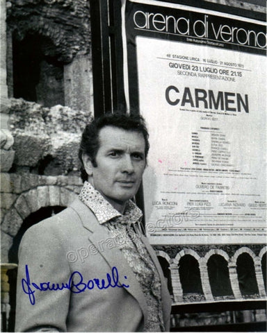 Corelli, Franco - Signed photo as himself - TaminoAutographs.com