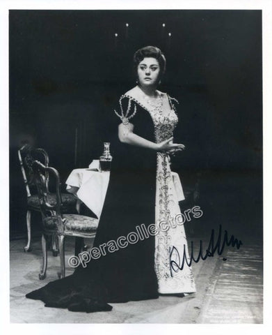 Crespin, Regine - Signed Photo as Tosca - TaminoAutographs.com