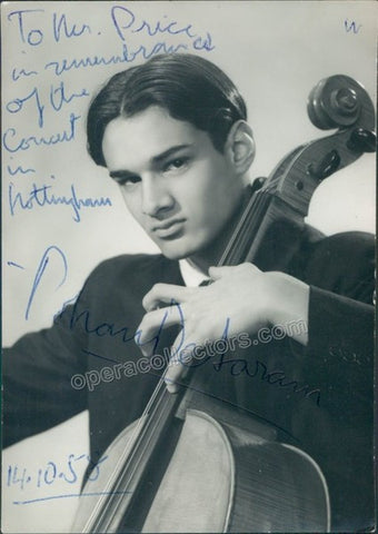 De Saram, Rohan - Signed photo in performance - TaminoAutographs.com