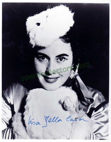 Della Casa, Lisa - Signed Photo as Arabella at the Met - TaminoAutographs.com