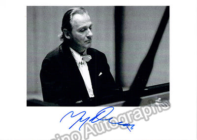Demus, Jorg - Signed Photo