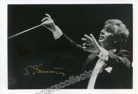 Dohnanyi, Christoph von - Signed Photo - TaminoAutographs.com