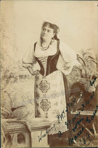 Duma, Marie - Signed Photo in Role