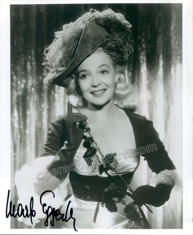 Eggerth, Marta - Signed Photo in Role - TaminoAutographs.com