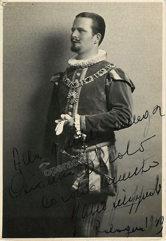 Filippeschi, Mario - Signed Photo in role - Tamino Autographs