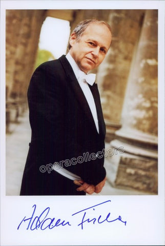 Fischer, Adam - Signed Photo - TaminoAutographs.com