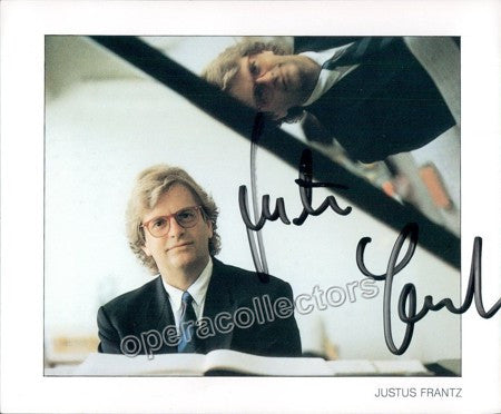 Frantz, Justus - Signed Photo - Tamino Autographs