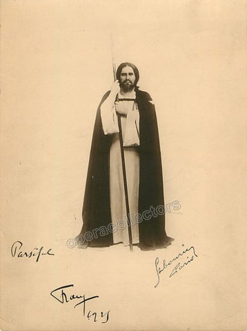 Franz, Paul - Signed Photo as Parsifal - Tamino Autographs
