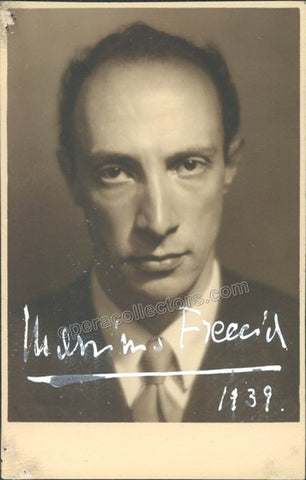 Freccia, Massimo - Signed Photo - Tamino Autographs