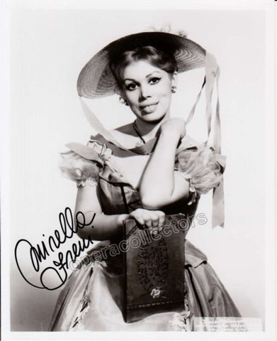 Freni, Mirella - Signed Photo as Adina - TaminoAutographs.com