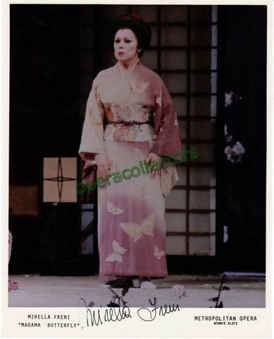 Freni, Mirella - Signed Photo as Madama Butterfly