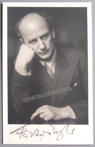Furtwangler, Wilhelm - Signed Photo postcard