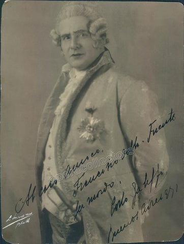 Galeffi, Carlo - Signed Photo in Role 1941