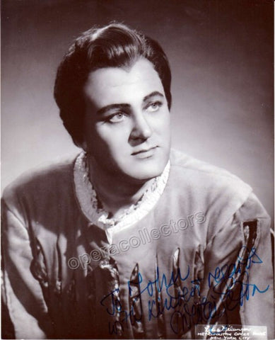 Gedda, Nicolai - Signed Photo shown in Faust - TaminoAutographs.com