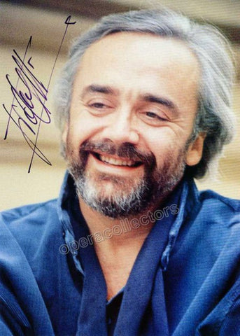 Gelmetti, Gianluigi - Signed Photo Postcard - TaminoAutographs.com