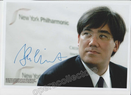 Unknown - Gilbert, Alan - Signed Photo