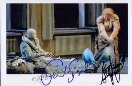 GOULD, Stephen and SIEGEL, Gerhard - TaminoAutographs.com