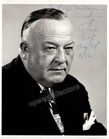 Grofé, Ferde - Signed Photo - Tamino Autographs