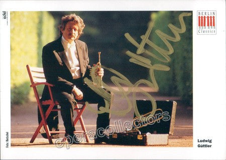 Guttler, Ludwig - Signed Photo - TaminoAutographs.com