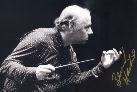 Haitink, Bernard - Signed Photo Conducting - TaminoAutographs.com