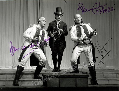 Hampson, Thomas - Corbelli, Alessandro - Van der Walt, Deon - Triple signed photo Cosi Fan Tutte - TaminoAutographs.com