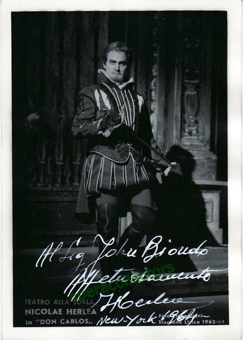 Herlea, Nicolae - shown in Don Carlo