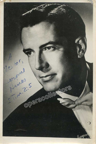 Hines, Jerome  - Signed Photo as himself