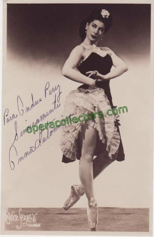 Istomina, Anna - Signed Photo - Tamino Autographs