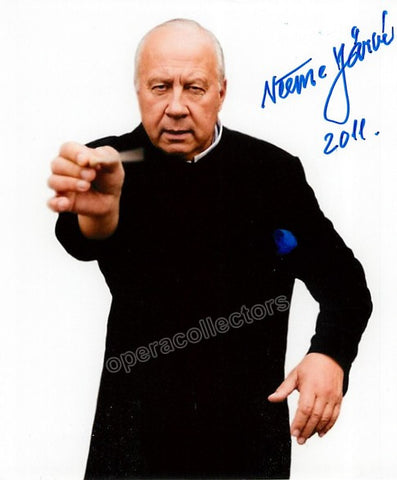 Jarvi, Neeme - Signed Photo in Performance - Tamino Autographs