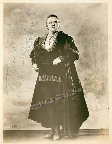 Jobin, Raoul - Signed Photo in Faust - Tamino Autographs