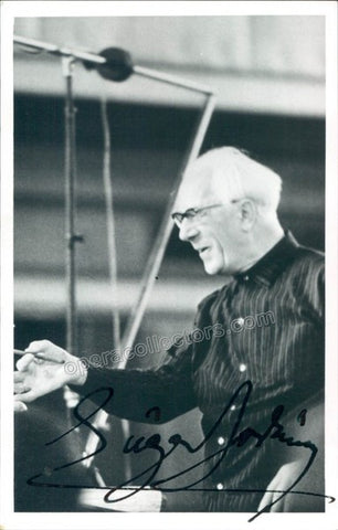 Jochum, Eugen - Signed Photo