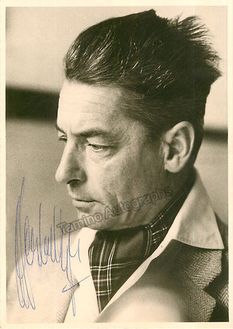 Karajan, Herbert von - Signed Photo - Tamino Autographs