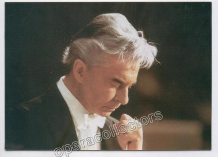 Karajan, Herbert von - Unsigned photo