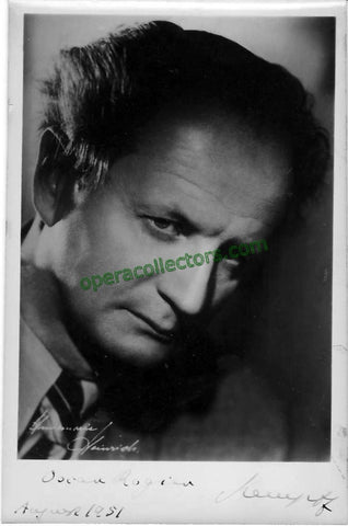 Kempff, Wilhelm - Signed photo - TaminoAutographs.com