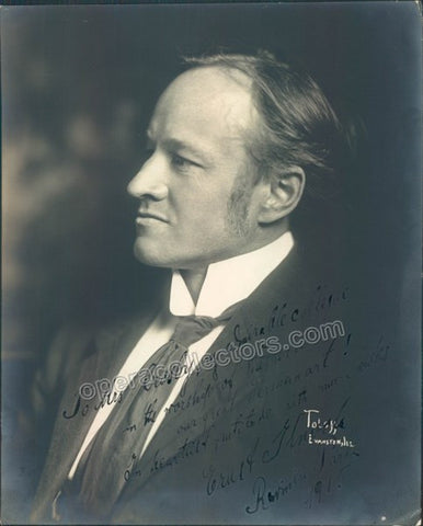 Knoch, Ernst - Signed Photo