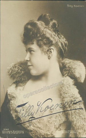 Koenen, Tilly - Signed photo