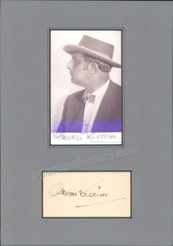 Krauss, Clemens - Signature and Photo - TaminoAutographs.com