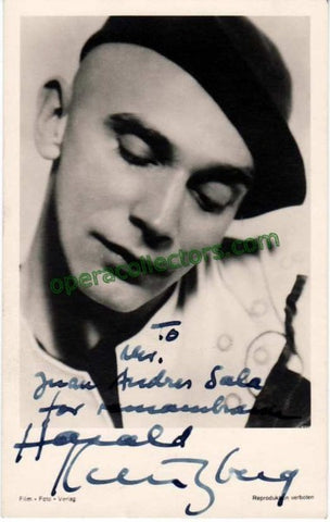 Kreutzberg, Harold - Signed Photo