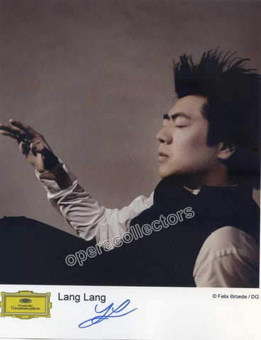 Lang, Lang - Signed photo - TaminoAutographs.com