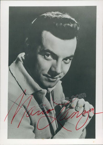 Lanza, Mario - Signed photo - TaminoAutographs.com