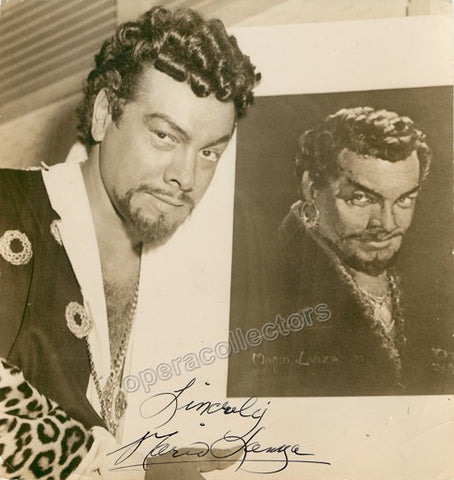 Lanza, Mario - Signed photo as Otello - TaminoAutographs.com