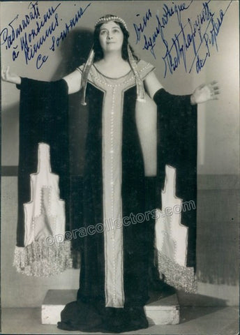 Lapeyrette, Ketty - Signed photo as Padmavati