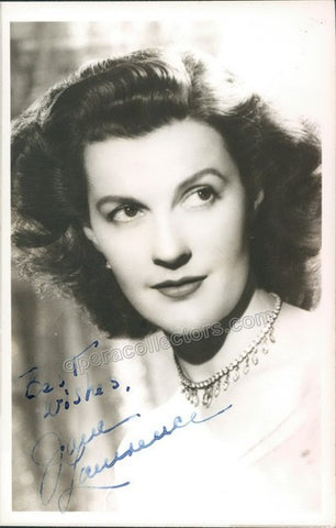 LAWRENCE, Jane - Tamino Autographs