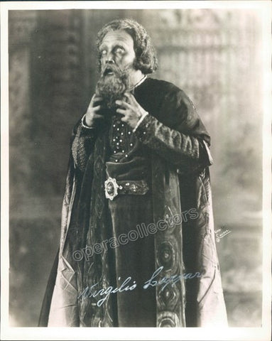 Lazzari, Virgilio - Signed Photo as Archibaldo in L´Amore dei Tre Re - TaminoAutographs.com