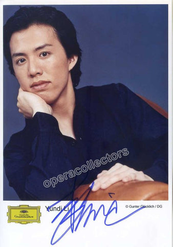 Li, Yundi - Signed photo - TaminoAutographs.com