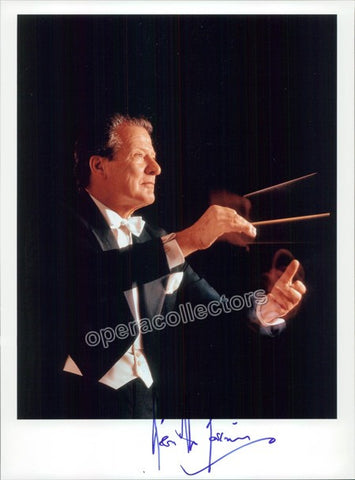 Marriner, Neville - Signed Photo Conducting - TaminoAutographs.com