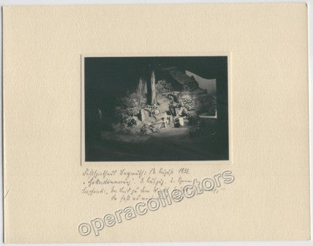 Original Photo - Gotterdammerung, 17 August 1933 (f) - Tamino Autographs