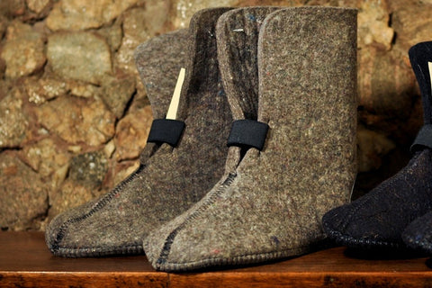 Brand Felt-10 in. 9mm Gray Pressed Wool Boot Liners