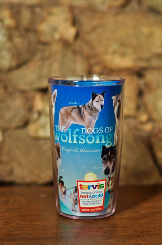 TERVIS tumbler- 16 oz. Dogs of Wolfsong Adventures